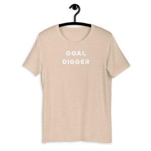 Tan Goal Digger T-Shirt